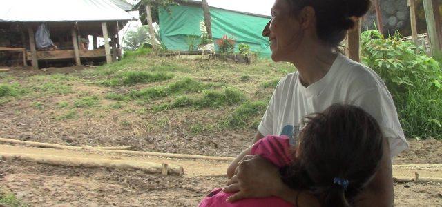 Valentina, una de las mujeres de la ex guerrilla de las FARC