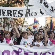 Una multitud en Resistencia: Vivas y organizadas nos queremos
