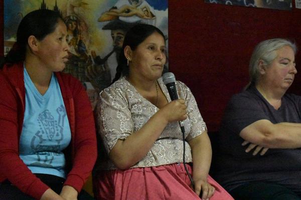 """Tercera audiencia contra la Justicia Patriarcal: """"La unidad de las mujeres nos hace a todas poderosas"""""""