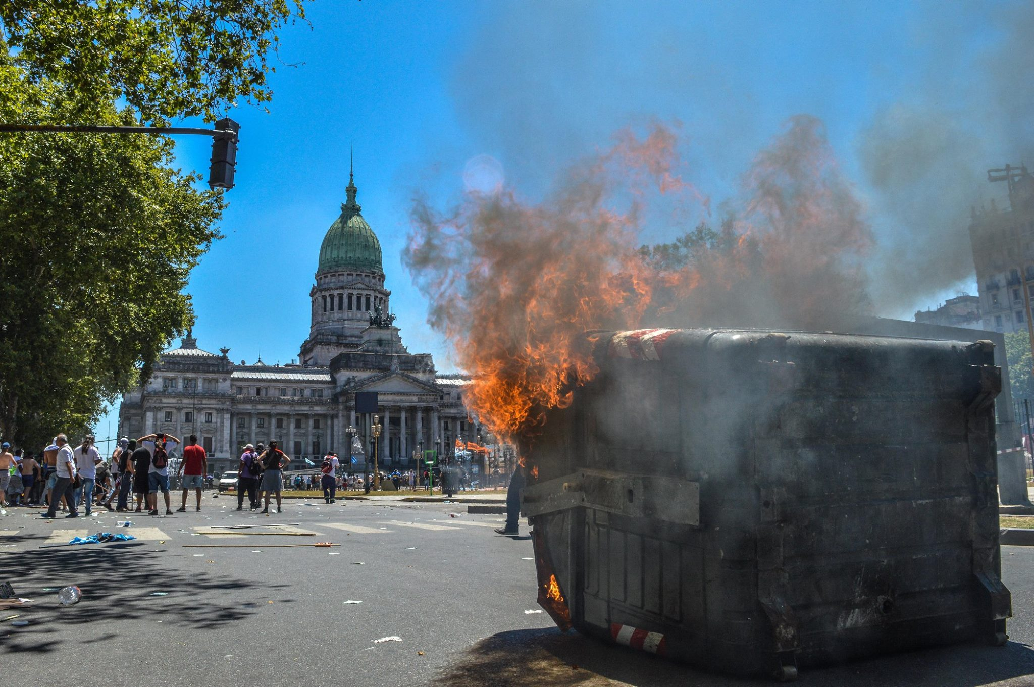 Represión en el Congreso: Un pueblo haciendo su historia