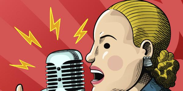 Evita, esa mujer, antiprincesa y libre
