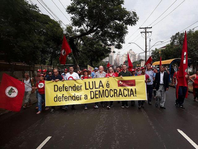 """""""Quien será juzgado el día 24 es el Poder Judicial y no Lula"""", dice Stedile, del MST"""
