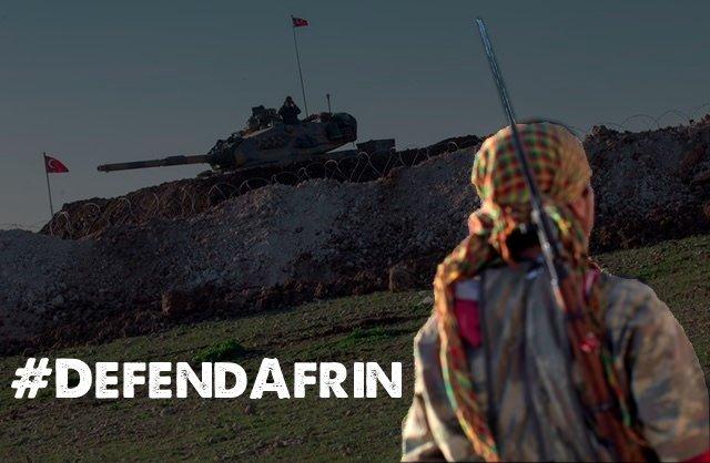 Las feministas tenemos una deuda con la Revolución de las Mujeres de Kurdistán. ¡Defendamos Afrin!