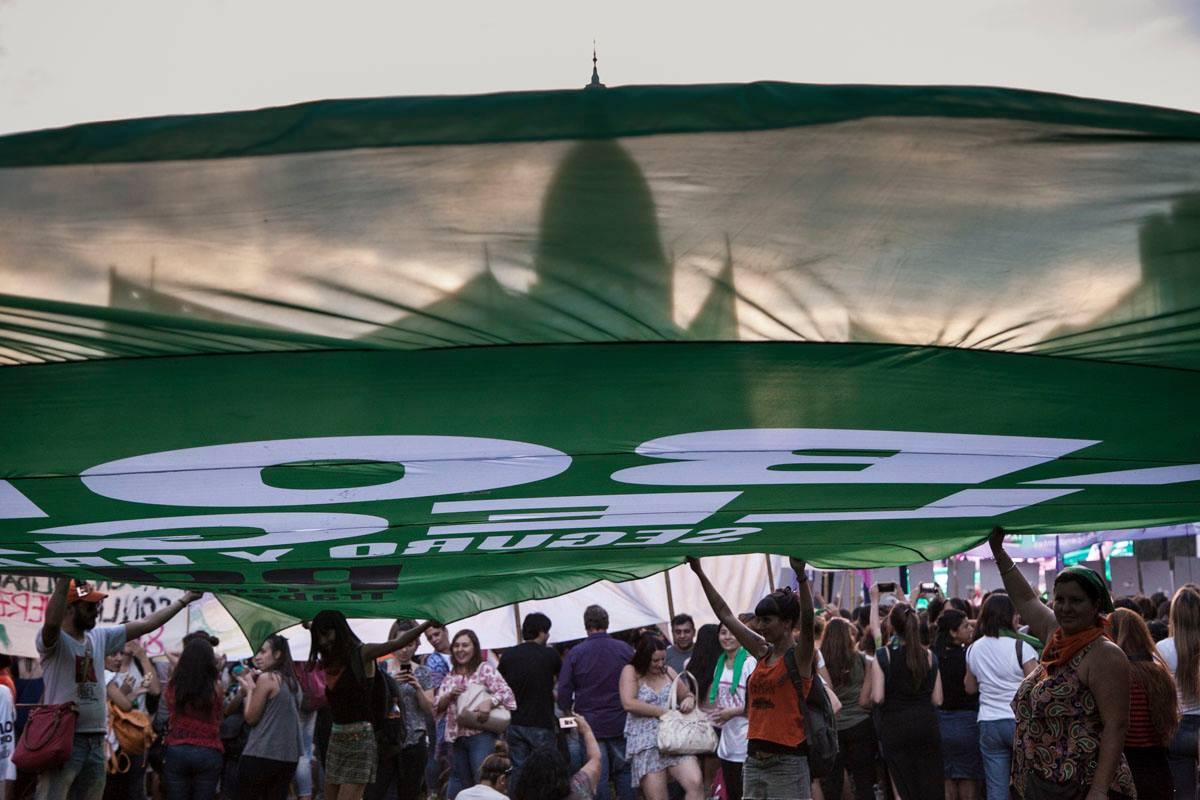 Martes verdes hasta que el aborto sea ley
