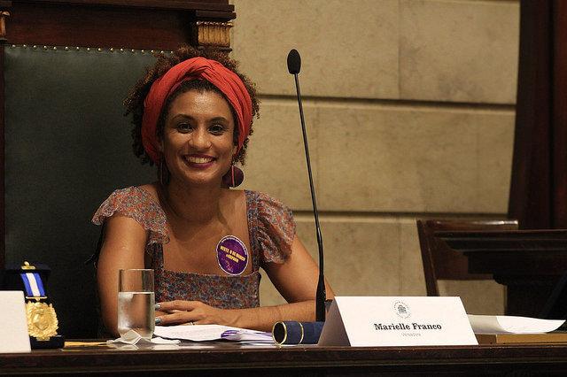 """""""Marielle era negra, lesbiana, favelada, madre soltera, la derecha política de Brasil no podía permitir que esa figura creciera"""""""