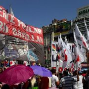 Organizaciones sociales rechazan las reformas en los planes de trabajo