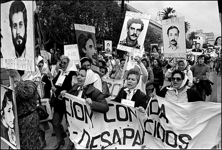 Un 24 de marzo internacionalista, feminista, hasta la libertad siempre.