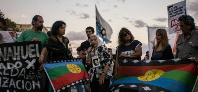 Facundo Jones Huala, extradición con represión