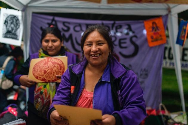 Voces por el aborto legal, Asamblea de Mujeres de la FOB