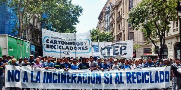 Reciclar No, Quemar Si: amplio rechazo de organizaciones y ambientalistas