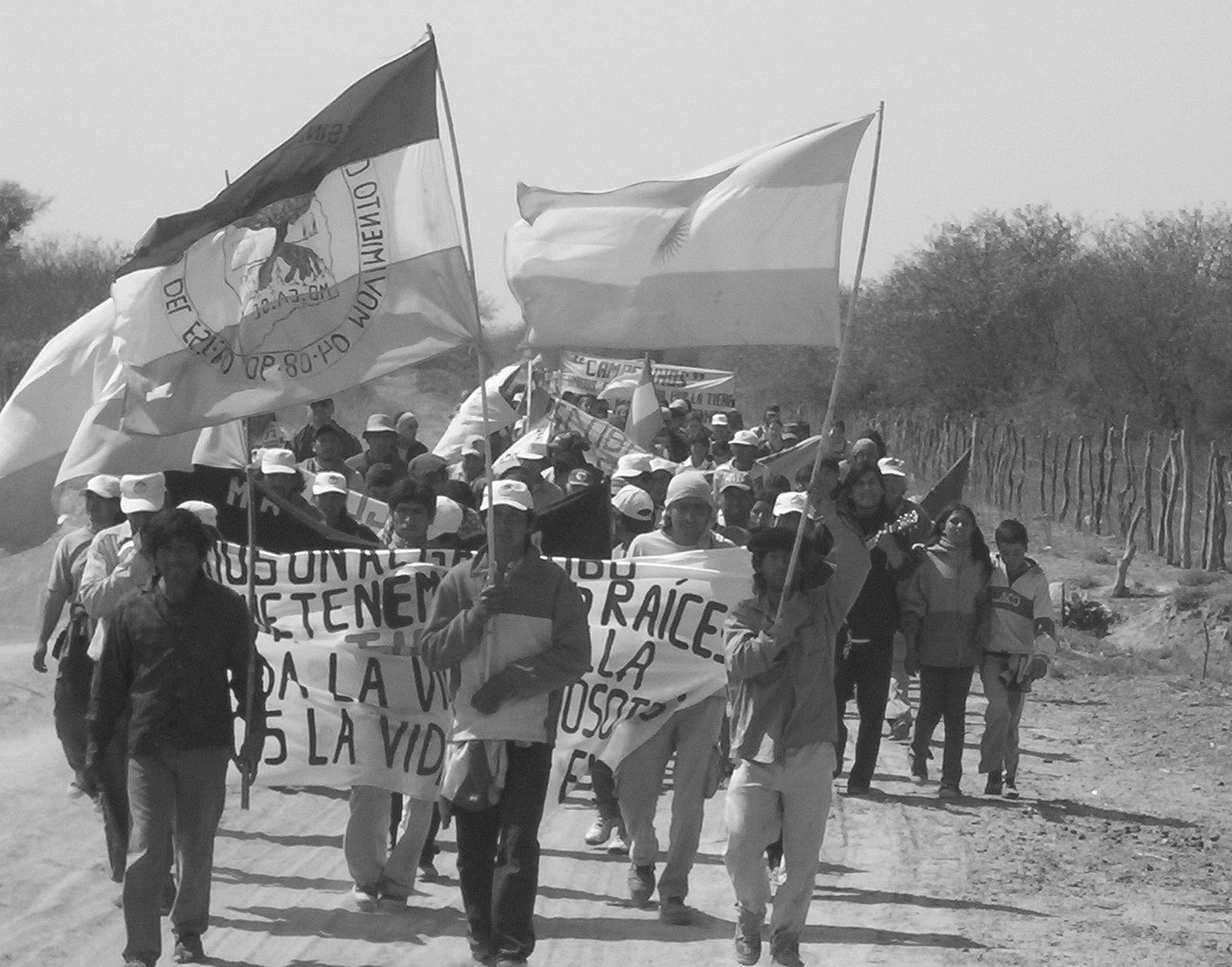 Familias del Mocase resisten embate empresarial en Vitiaca