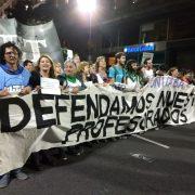 Terciarios en marcha contra la UniCABA