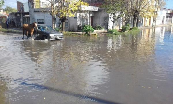 ¡Este es mi barrio hoy…Inundado…!
