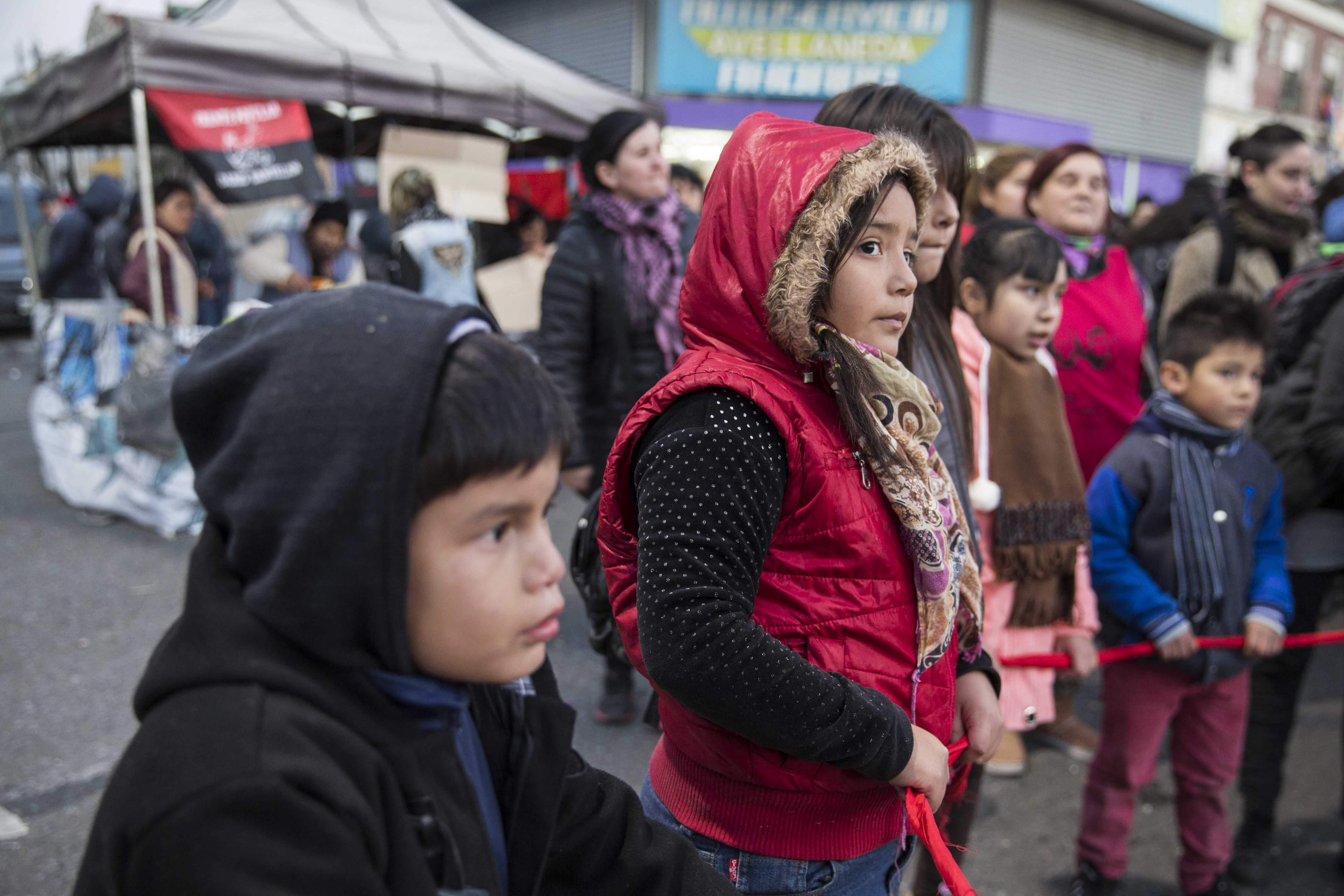 La niñez no es ajena a las políticas de saqueo y hambre