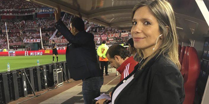 """Ángela Lerena: """"El fútbol sirve para visibilizar la posibilidad de construir alternativas colectivamente"""""""