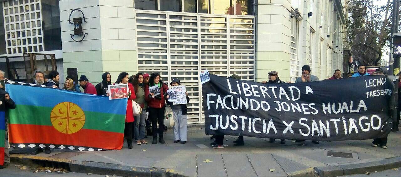 """Facundo Jones Huala:""""le hemos torcido el brazo con la lucha a una parte del poder"""""""