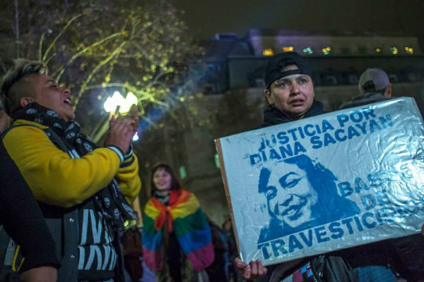 Justicia por Diana Sacayán ¡Fue travesticidio!