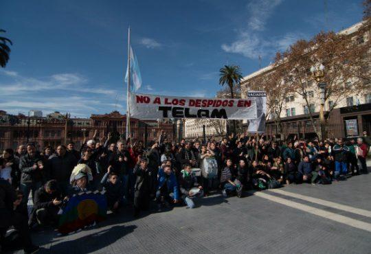 Despidos en Telam: faltazo de Lombardi, denuncia penal y dialogo en Tribunales