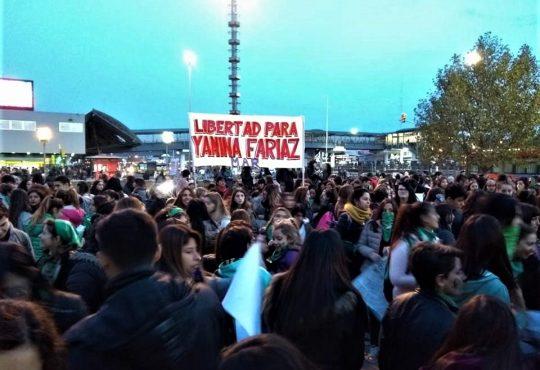 Yanina Fariaz: presa política del patriarcado