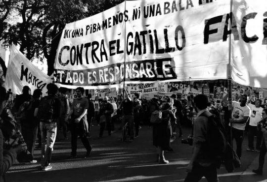 Cuarta Marcha Nacional contra el Gatillo Fácil: colectivizar el dolor