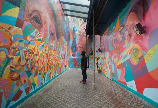 Murales para reflexionar como individuos y generar movimiento colectivo