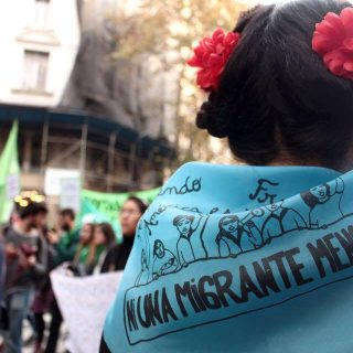 Segundo paro migrante: Con rostro de mujer