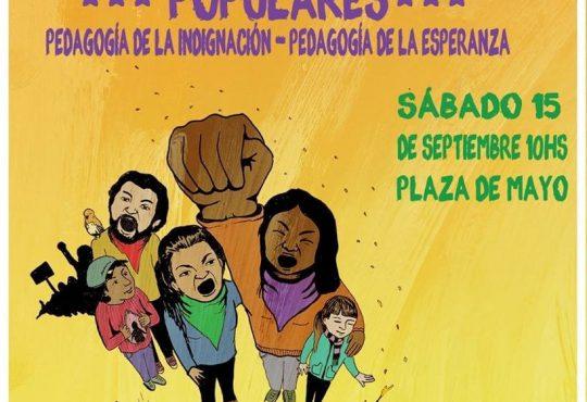 La educación popular a la Plaza de Mayo. Pedagogía de la indignación y de la esperanza