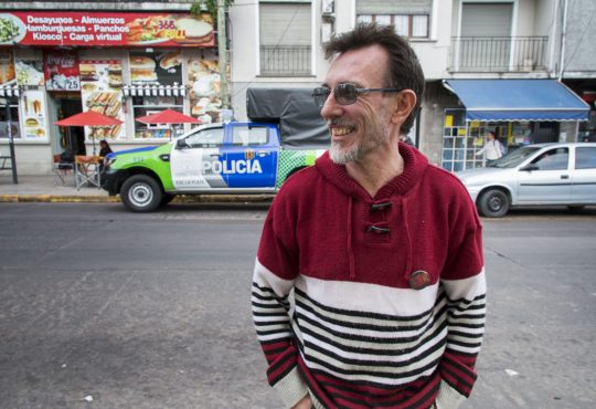 """Rubén López: """"tenía la necesidad de contar más sobre lo que había visto que de lo que él había sufrido"""""""