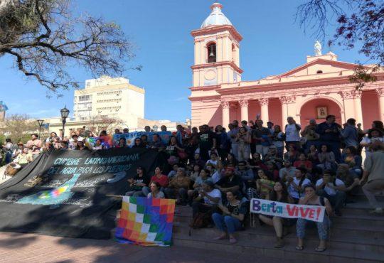 """I Cumbre Latinoamericana del Agua, """"el régimen extractivista está afectando este bien común a todos los pueblos"""""""
