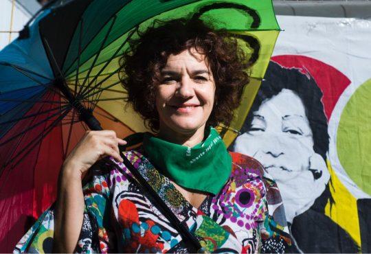 """Cecilia Merchán: """"Debemos continuar con nuestros pañuelos a la vista"""""""