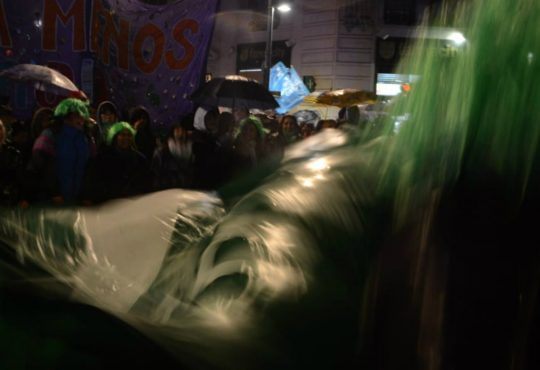 Martes Verde, poetas por el derecho al aborto legal
