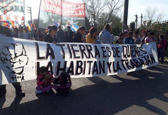 Desalojaron una toma en Claypole: la respuesta del gobierno a la crisis habitacional