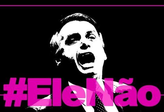 #EleNão. En Brasil, unidas contra Bolsonaro