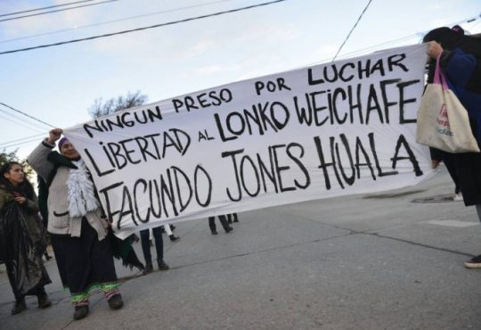Repudian la sentencia contra el Lonko Facundo Jones Huala