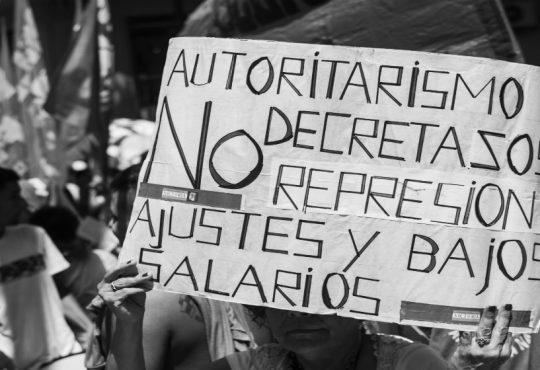 Panorama Sindical II:  conflictos de trabajadores y trabajadoras estatales y de salud