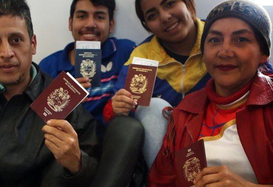 Plan Vuelta a la Patria: Partió el primer vuelo desde Argentina rumbo a Venezuela