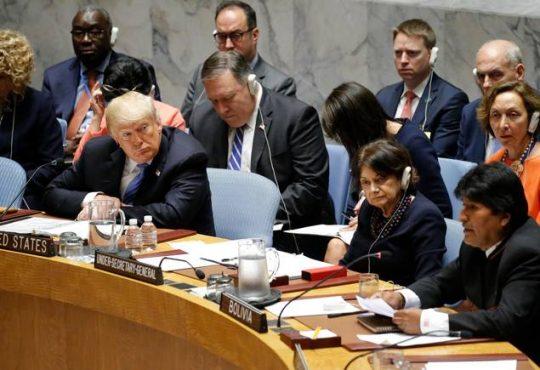 ONU: Morales, Maduro y Díaz -Canel firmes contra EEUU