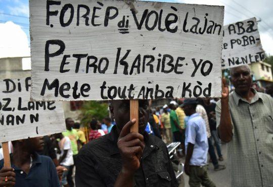 Haití vuelve a las calles: ¿Dónde está el dinero de Petrocaribe?