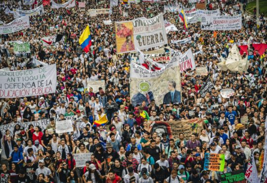 Colombia en caravana por la Educación Superior