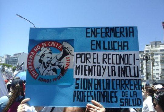 Profesionales de la Salud marcharon contra la exclusión y precarización laboral de la nueva ley porteña