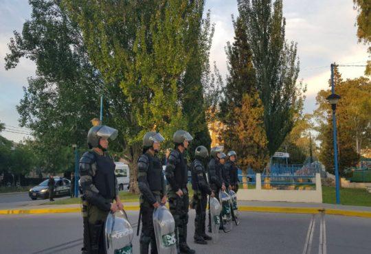 Rio Negro,  represión y detenciones en la universidad