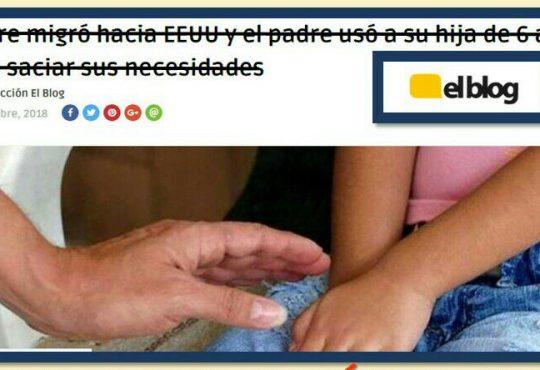 """El Blog"" que encubre violadores en El Salvador"