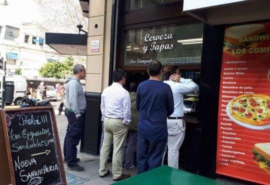 Tarifazo 1-Trabajo 0: Cerró el histórico bar Los Compañeros