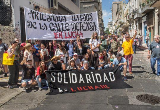 """San Telmo: """"No somos ilegales. Reclamamos la restitución de nuestro lugar de trabajo"""""""