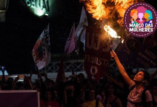 """#8M Brasil: """"Por la vida de las mujeres, somos todas Marielle"""""""