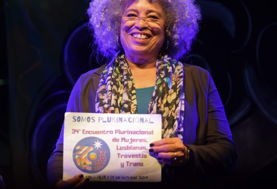 Angela Davis en Montevideo: Reflexiones para un feminismo en clave interseccional