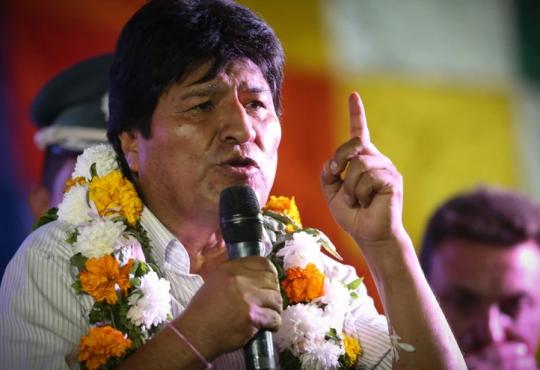 Evo Morales en Argentina: la visita de un hermano latinoamericano