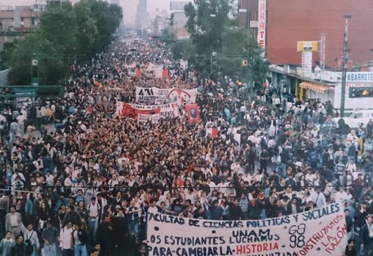 México: memorias de la huelga de la UNAM a 20 años