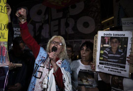 Marcha contra el Gatillo Fácil por lxs pibxs de San Miguel del Monte