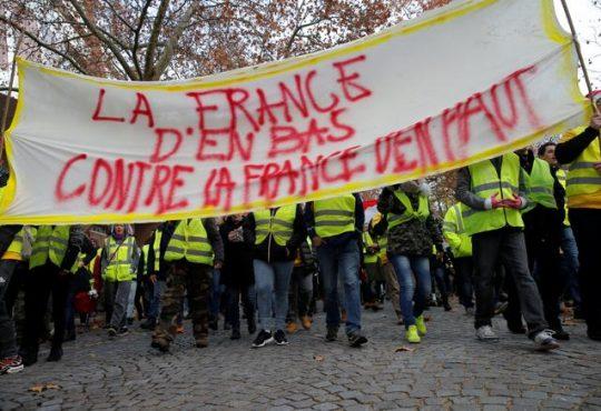 Francia Fluorescente: naranja vs amarillo